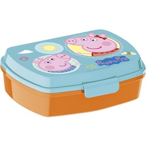 Peppa pig sandwich container