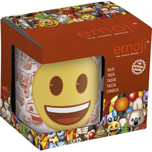 Emoji smiles cup gift set