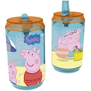 Peppa pig canette