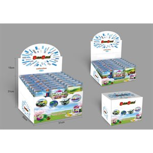 Gift set BanBao in foilbag including 4 display in masterbox