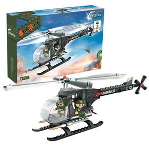 Defence force M2 helicopter 90 pieces
