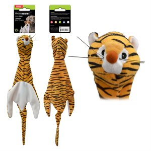 plush tiger toy with squeaker